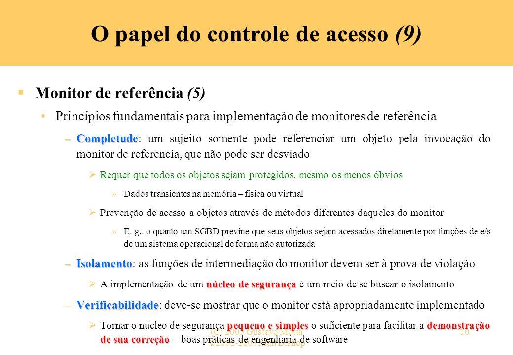 O papel do controle de acesso (9)