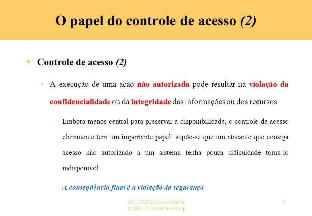 O papel do controle de acesso (2)
