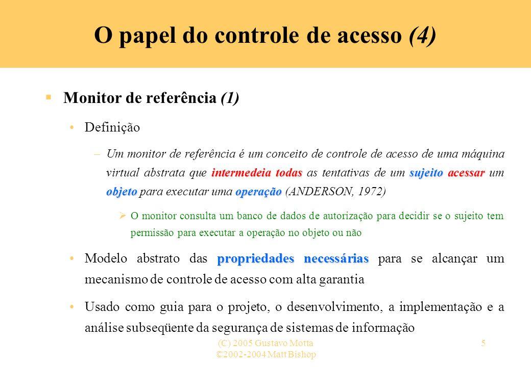 O papel do controle de acesso (4)
