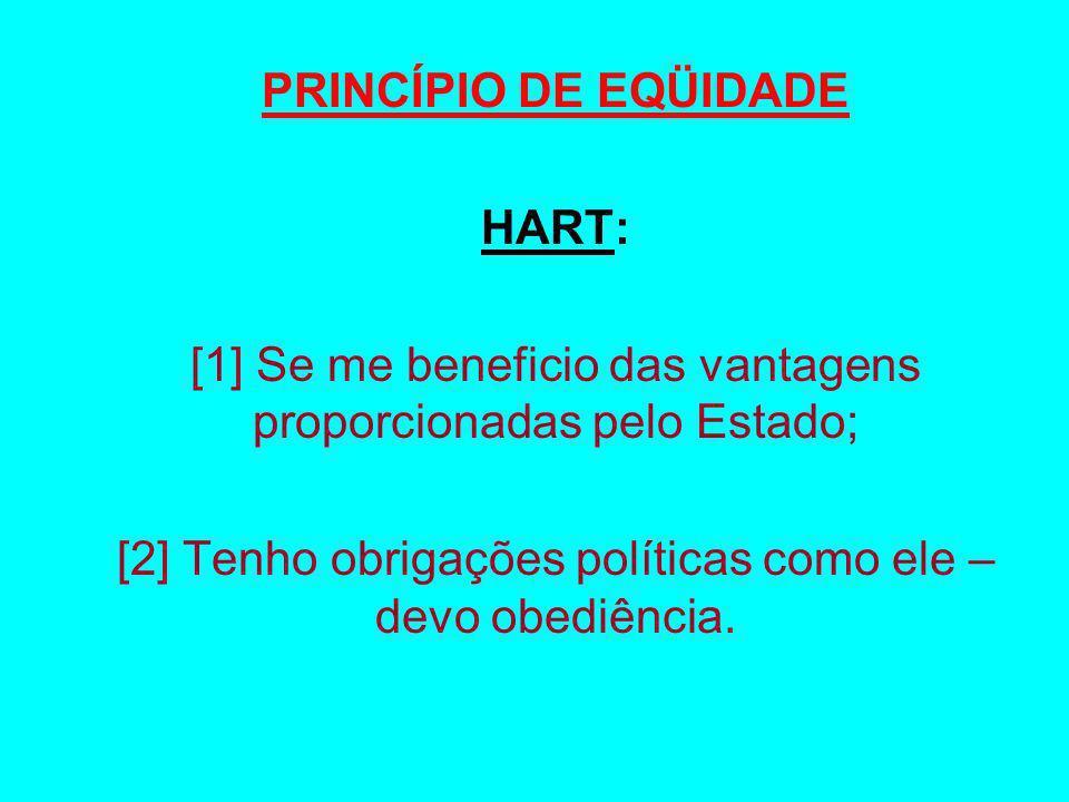 PRINCÍPIO DE EQÜIDADE HART: