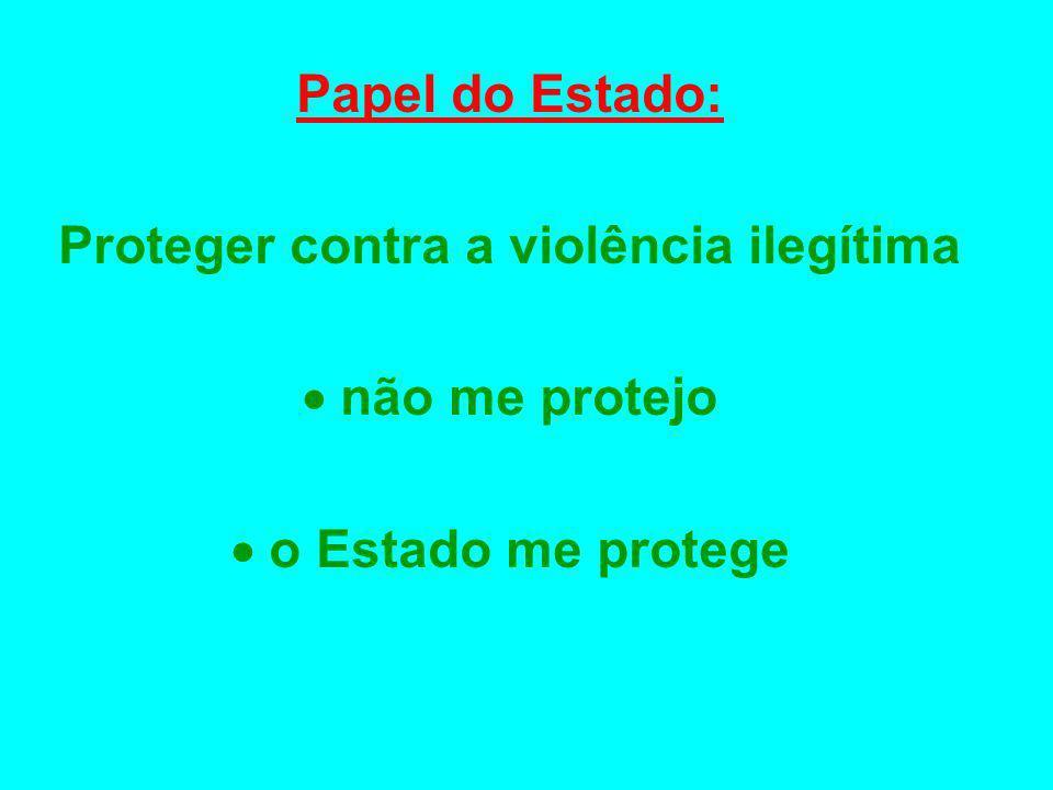 Proteger contra a violência ilegítima