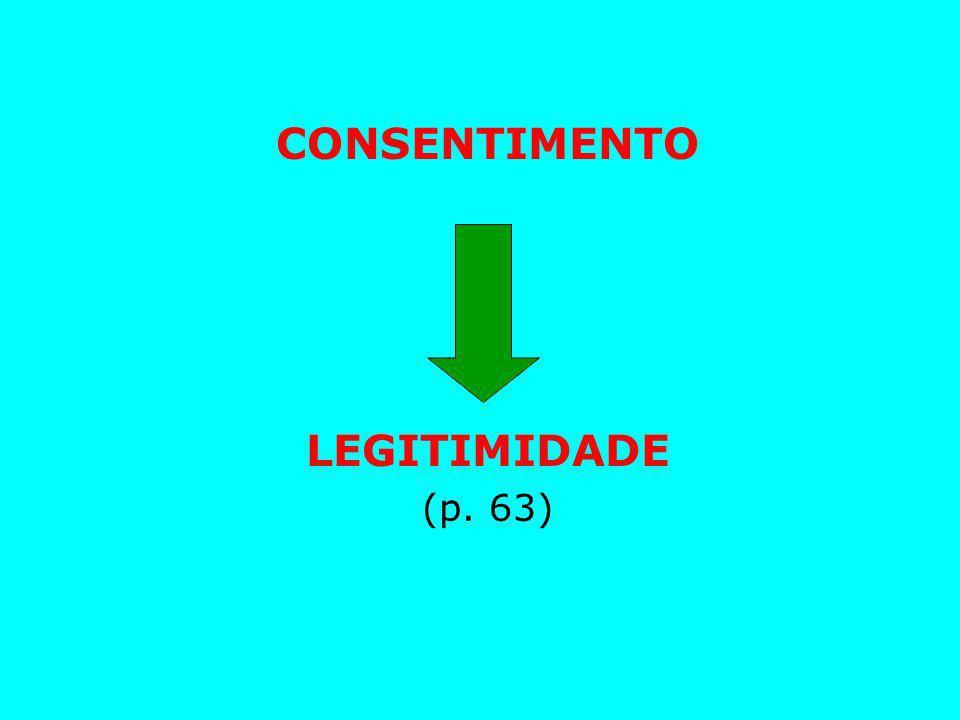 CONSENTIMENTO LEGITIMIDADE (p. 63)