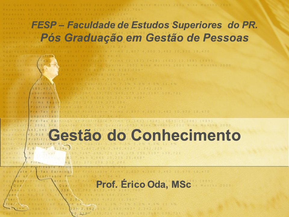 FESP – Faculdade de Estudos Superiores do PR
