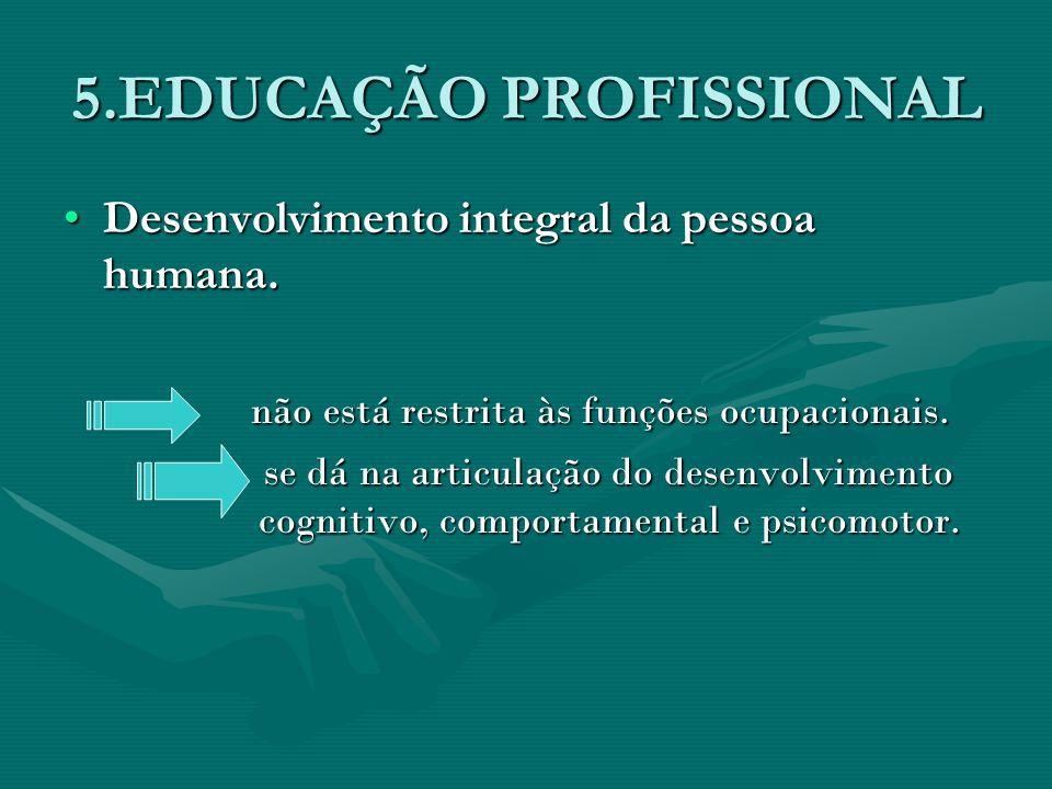5.EDUCAÇÃO PROFISSIONAL