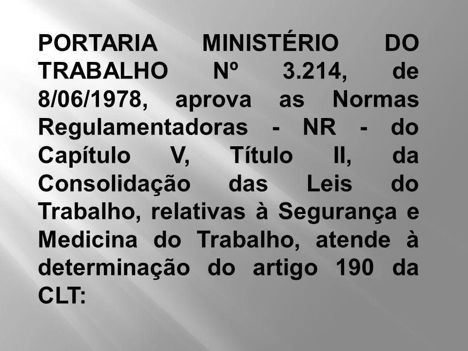 PORTARIA MINISTÉRIO DO TRABALHO Nº 3