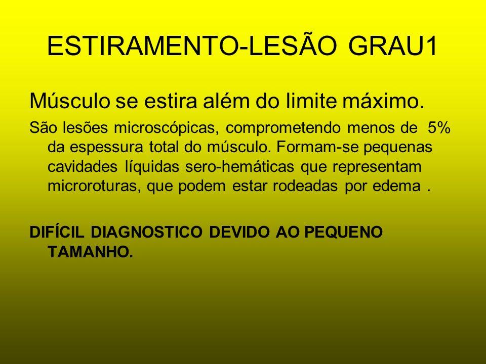 ESTIRAMENTO-LESÃO GRAU1