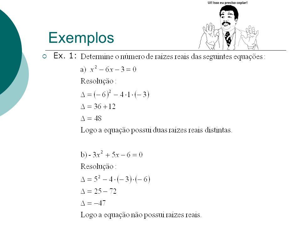 Exemplos Ex. 1: