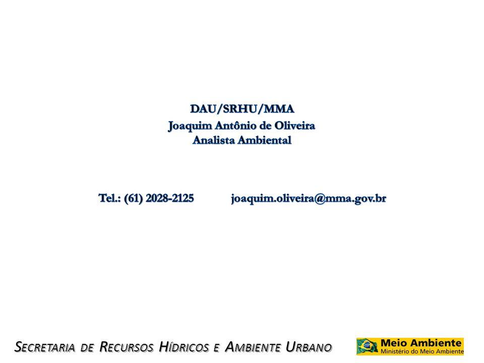 Joaquim Antônio de Oliveira Analista Ambiental