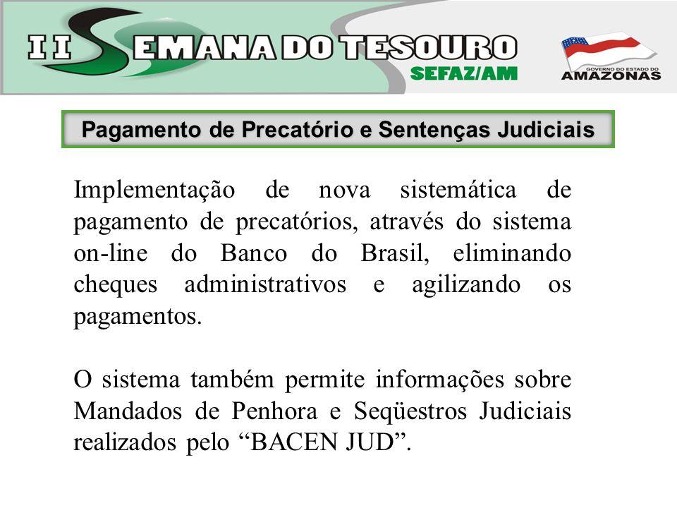 Pagamento de Precatório e Sentenças Judiciais