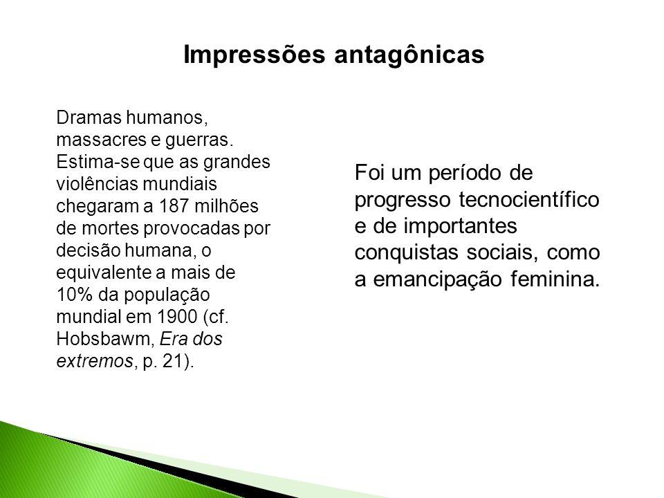 Impressões antagônicas