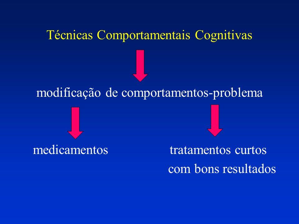 Técnicas Comportamentais Cognitivas