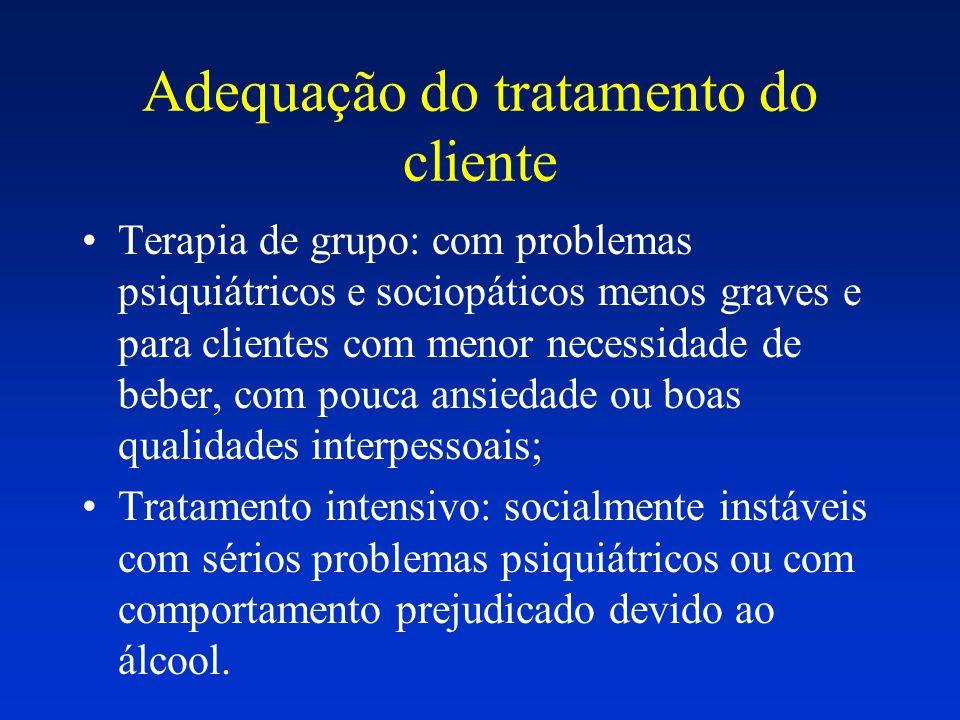 Adequação do tratamento do cliente