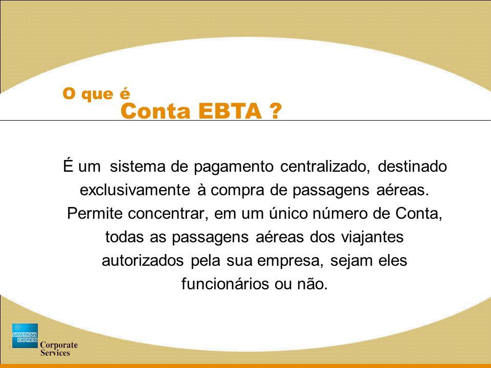 O que é Conta EBTA