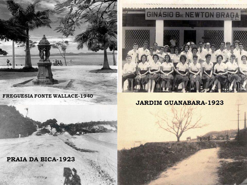 GALEÃO JARDIM GUANABARA-1923 PRAIA DA BICA-1923