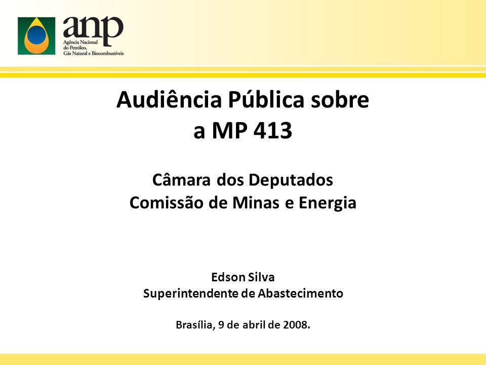 Audiência Pública sobre a MP 413
