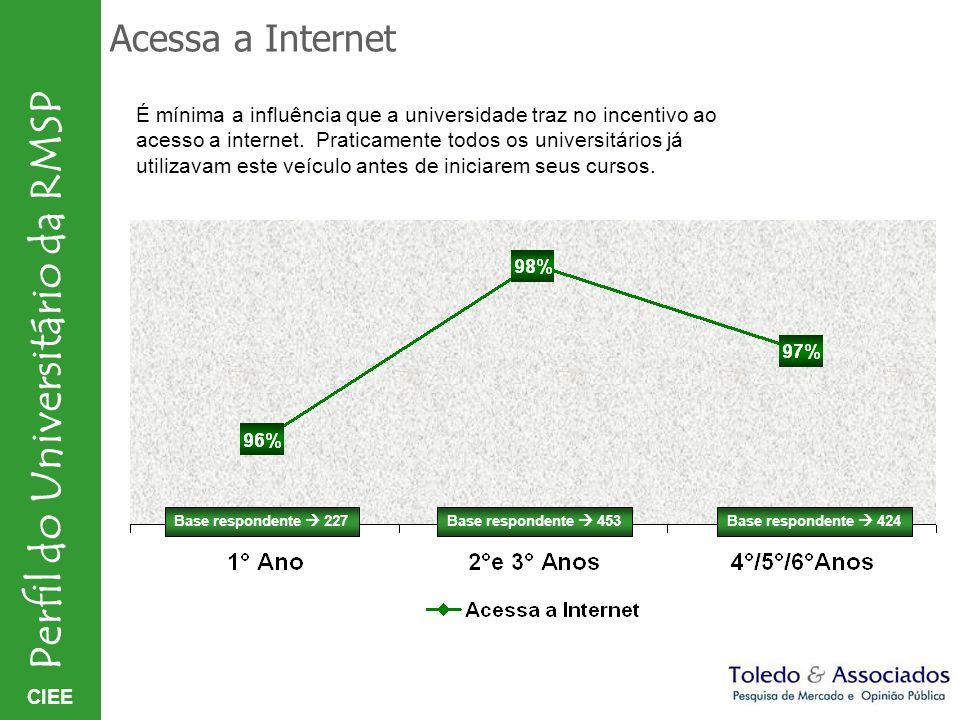 Acessa a Internet