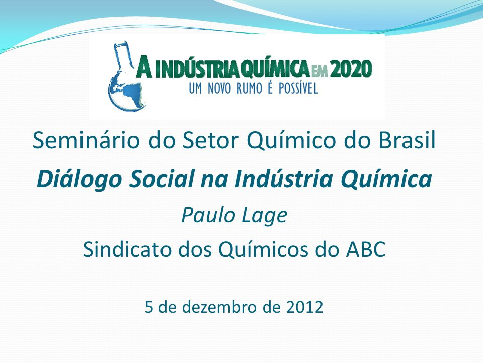 Diálogo Social na Indústria Química