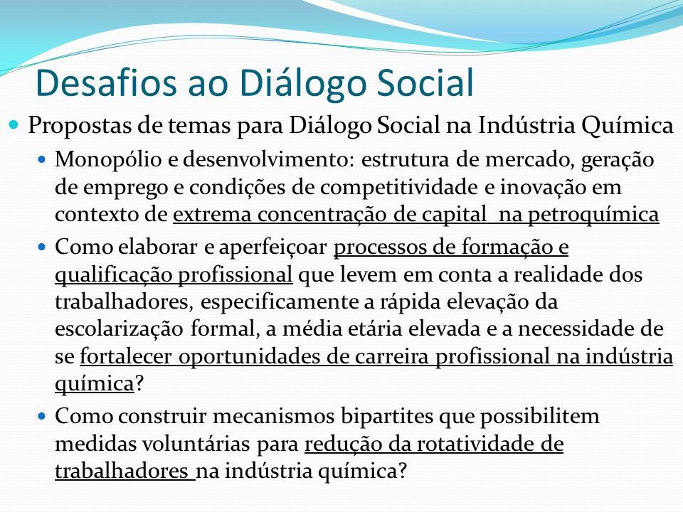 Desafios ao Diálogo Social
