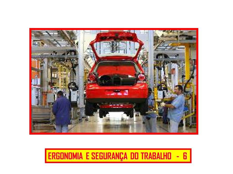 ERGONOMIA E SEGURANÇA DO TRABALHO - 6