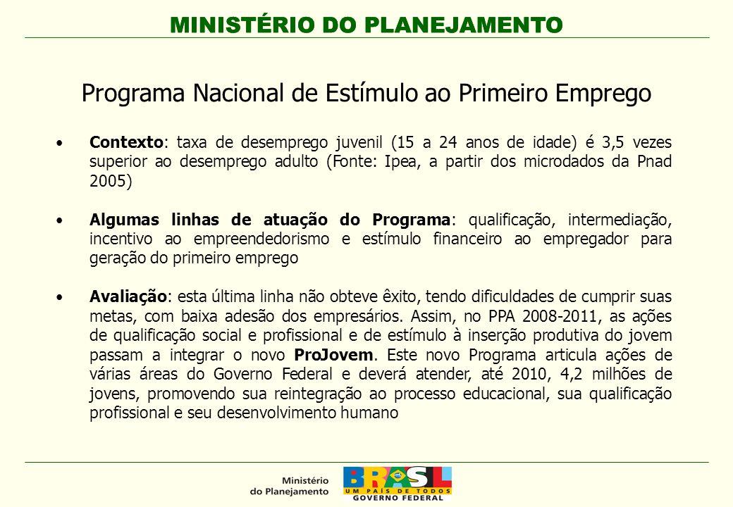 Programa Nacional de Estímulo ao Primeiro Emprego