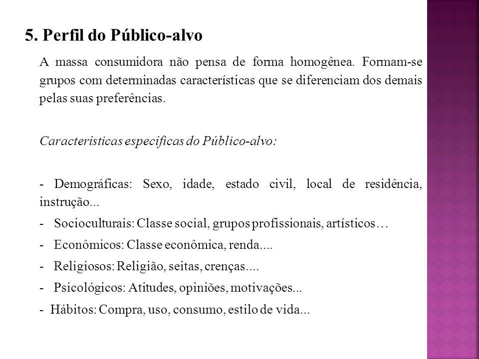 5. Perfil do Público-alvo