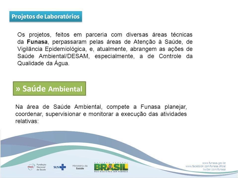 » Saúde Ambiental Projetos de Laboratórios
