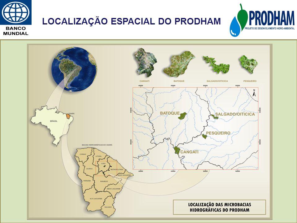 LOCALIZAÇÃO ESPACIAL DO PRODHAM