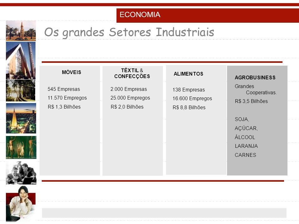 Os grandes Setores Industriais