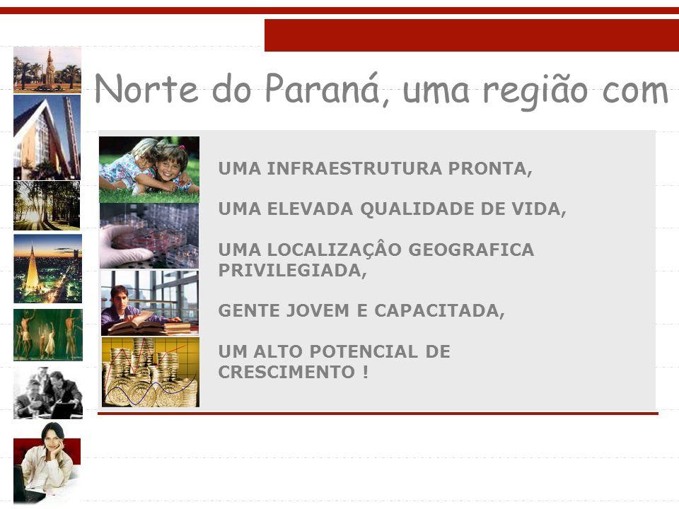 Norte do Paraná, uma região com