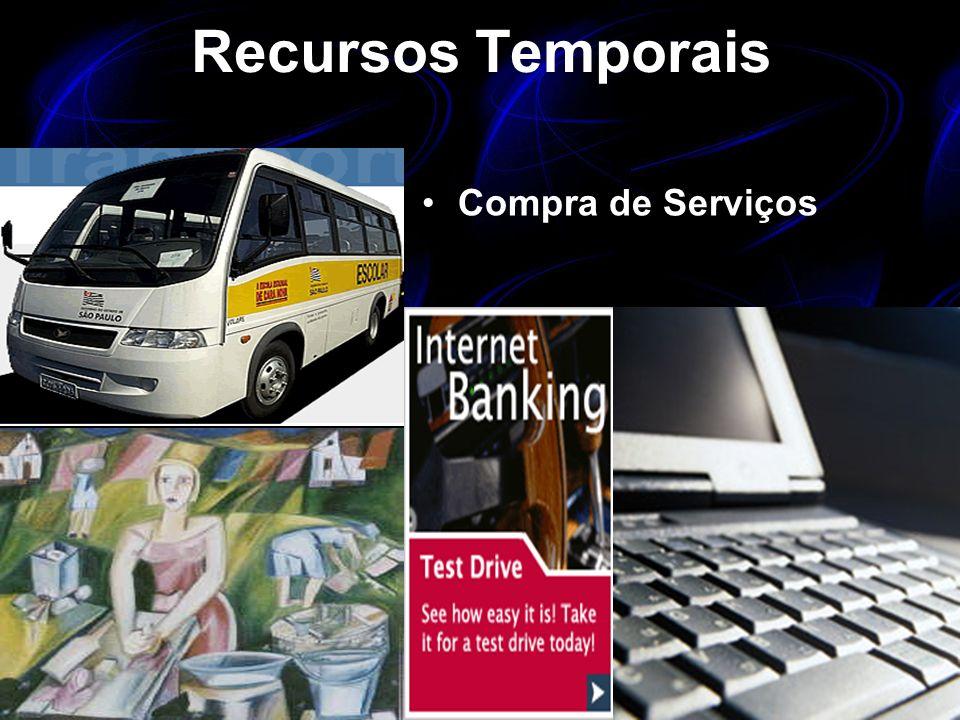 Recursos Temporais Compra de Serviços