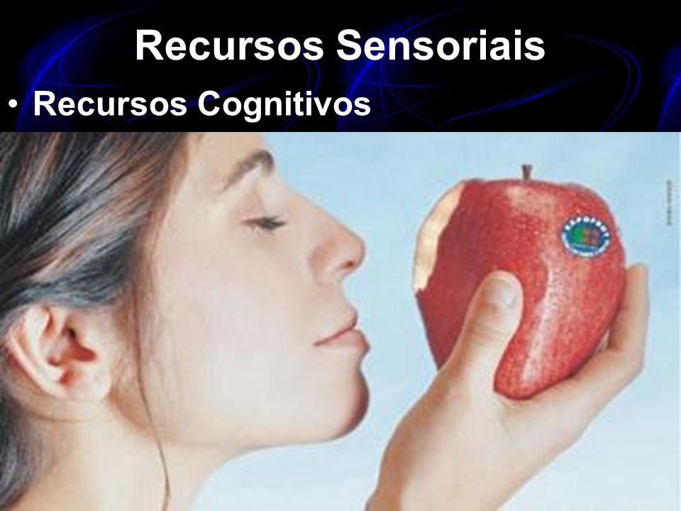 Recursos Sensoriais Recursos Cognitivos