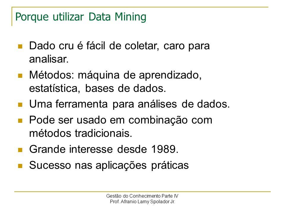 Porque utilizar Data Mining