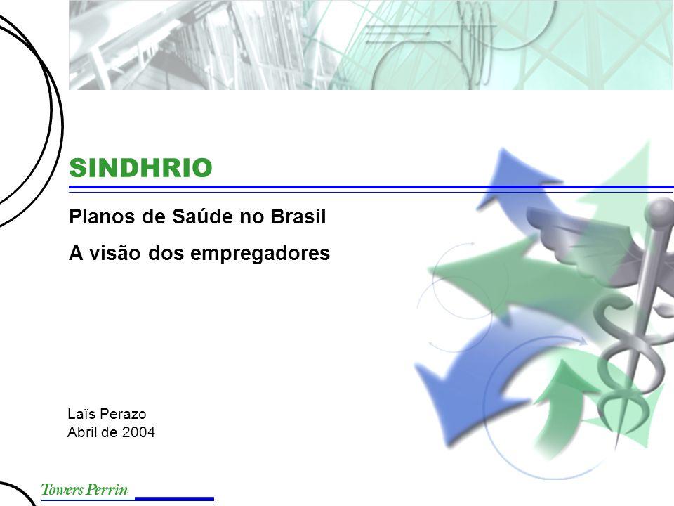 Presentation Title Planos de Saúde no Brasil A visão dos empregadores