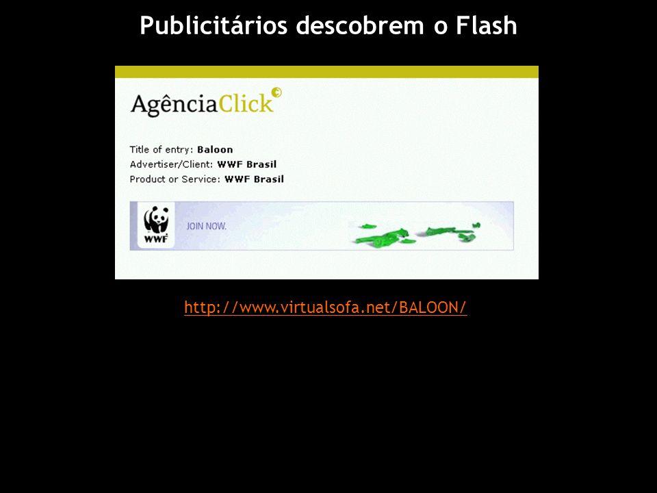 Publicitários descobrem o Flash
