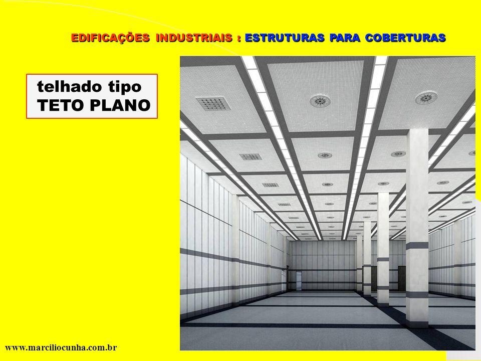 telhado tipo TETO PLANO
