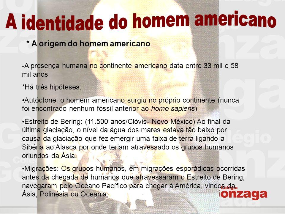 A identidade do homem americano