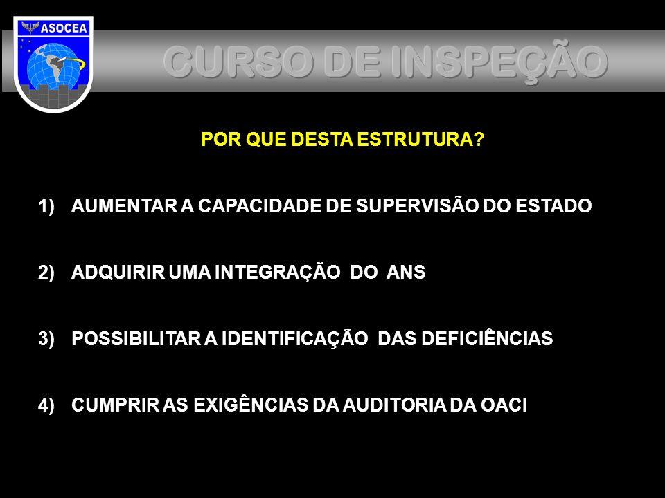 CURSO DE INSPEÇÃO CURSO DE INSPEÇÃO POR QUE DESTA ESTRUTURA