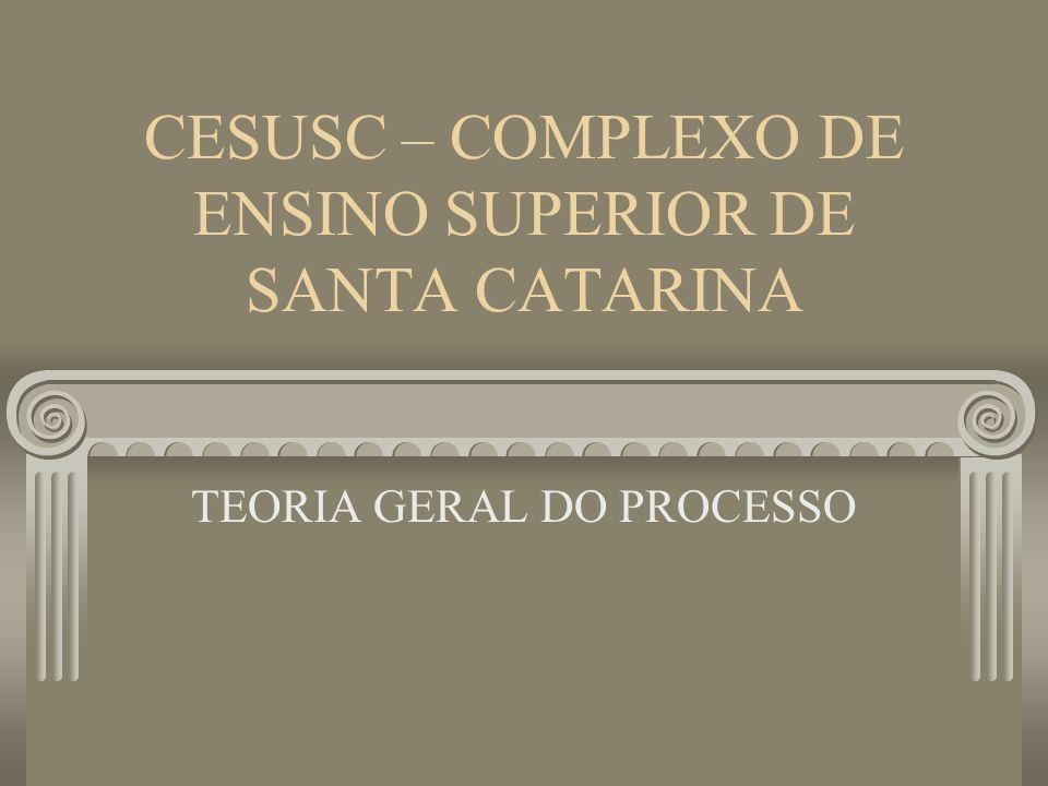 CESUSC – COMPLEXO DE ENSINO SUPERIOR DE SANTA CATARINA