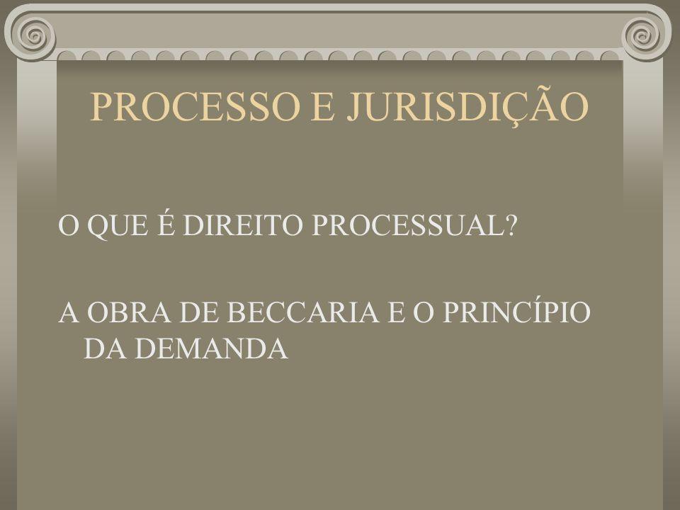 PROCESSO E JURISDIÇÃO O QUE É DIREITO PROCESSUAL