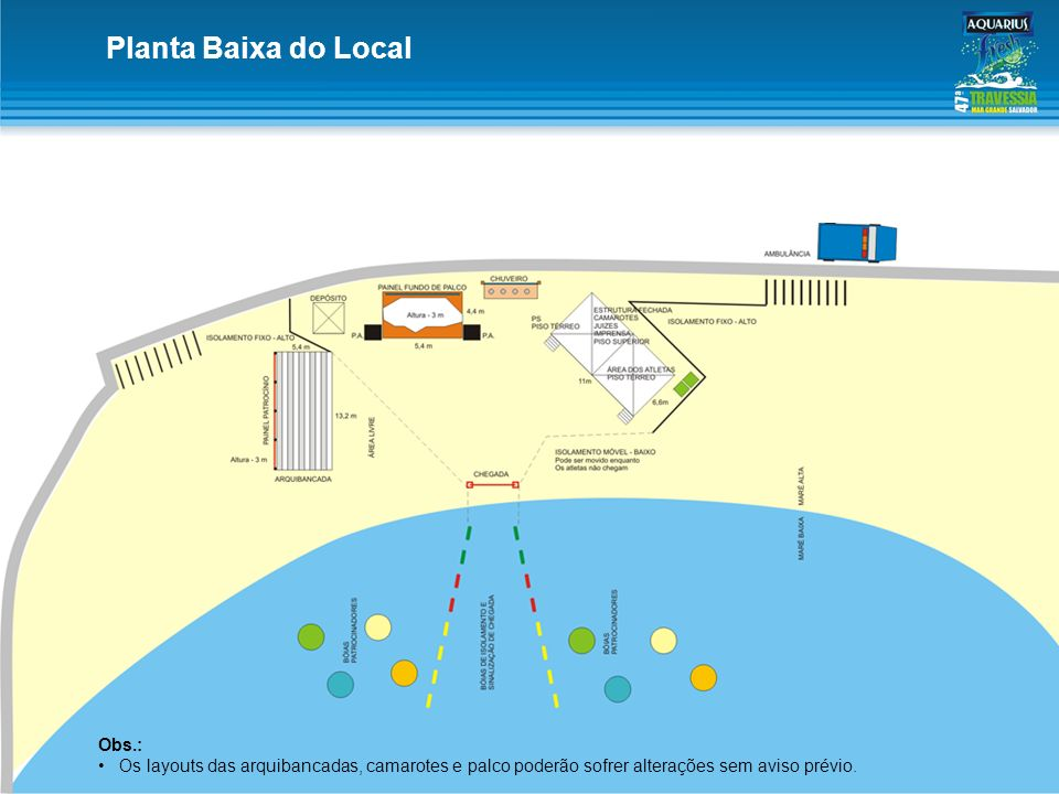 Planta Baixa do Local Obs.: