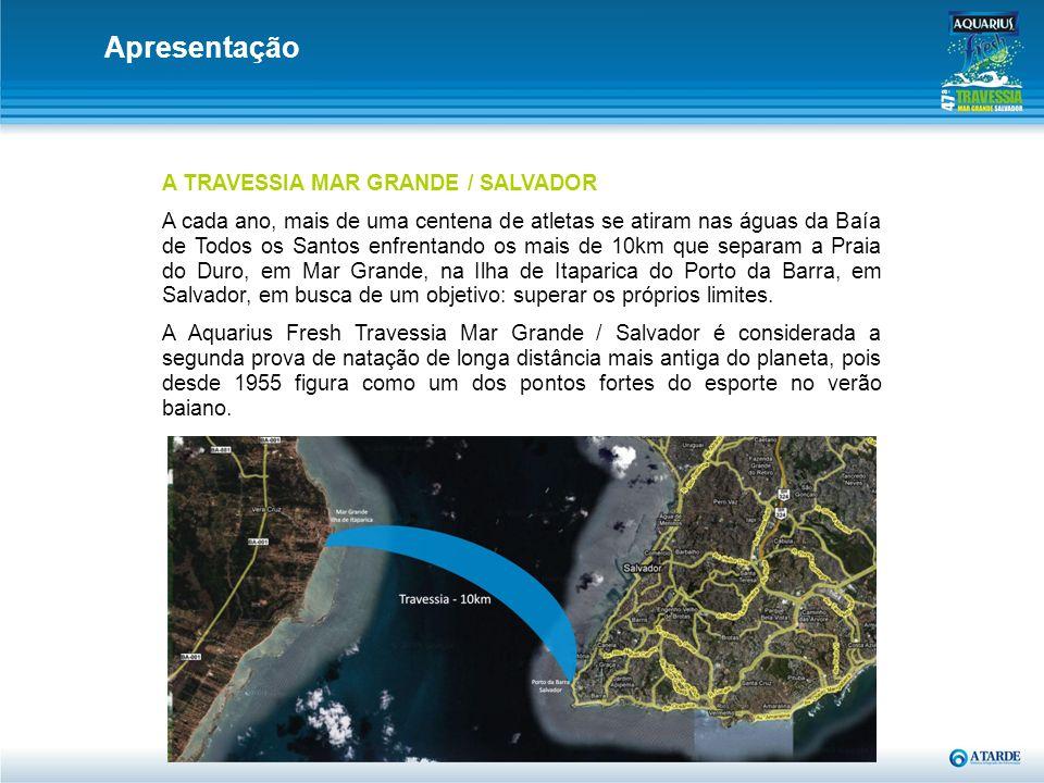 Apresentação A TRAVESSIA MAR GRANDE / SALVADOR