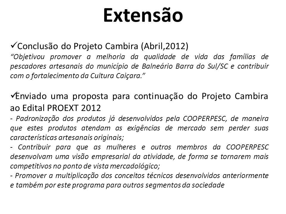 Extensão Conclusão do Projeto Cambira (Abril,2012)