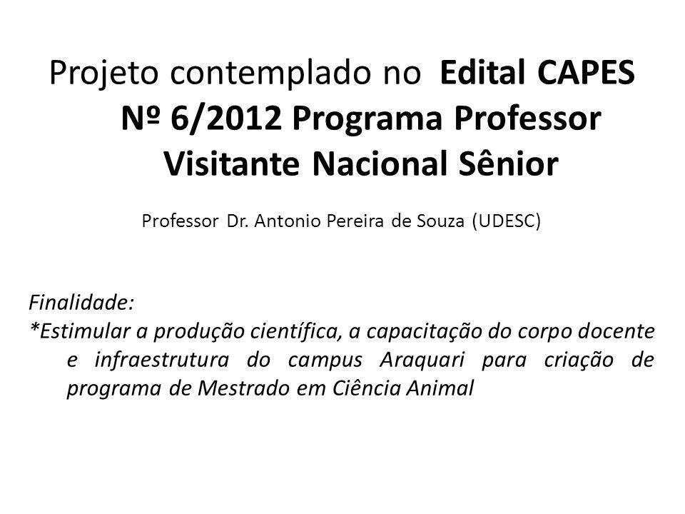Professor Dr. Antonio Pereira de Souza (UDESC)