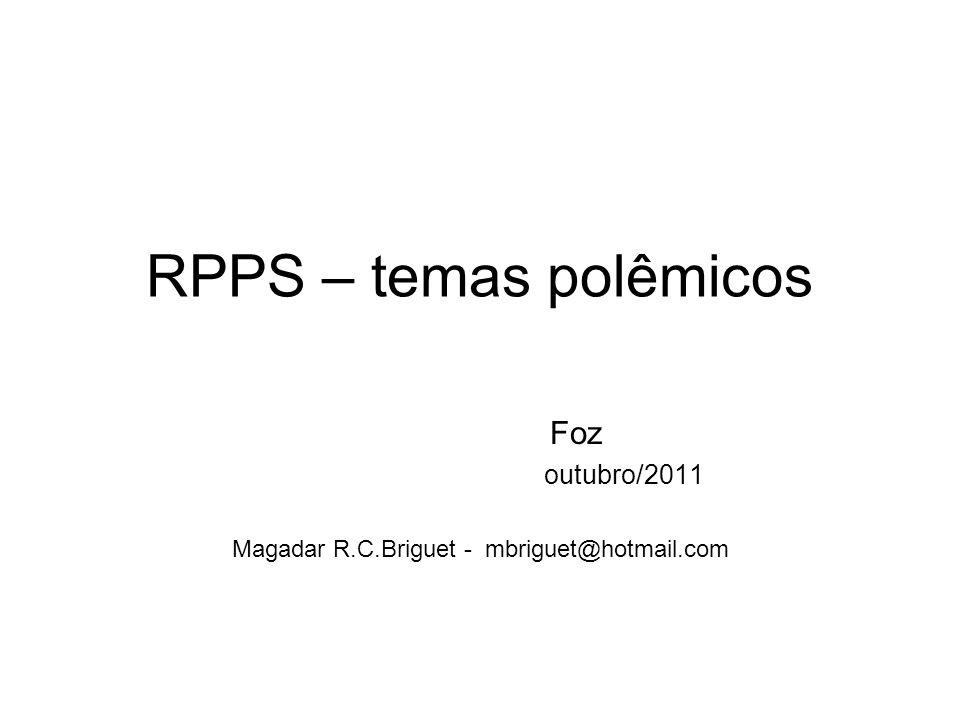Foz outubro/2011 Magadar R.C.Briguet - mbriguet@hotmail.com