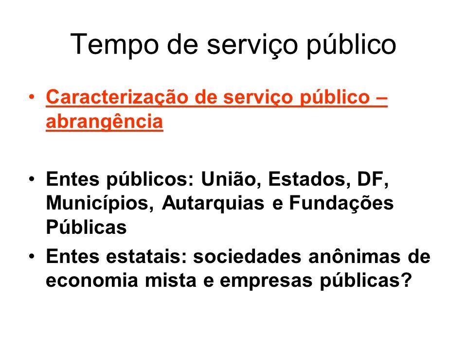 Tempo de serviço público