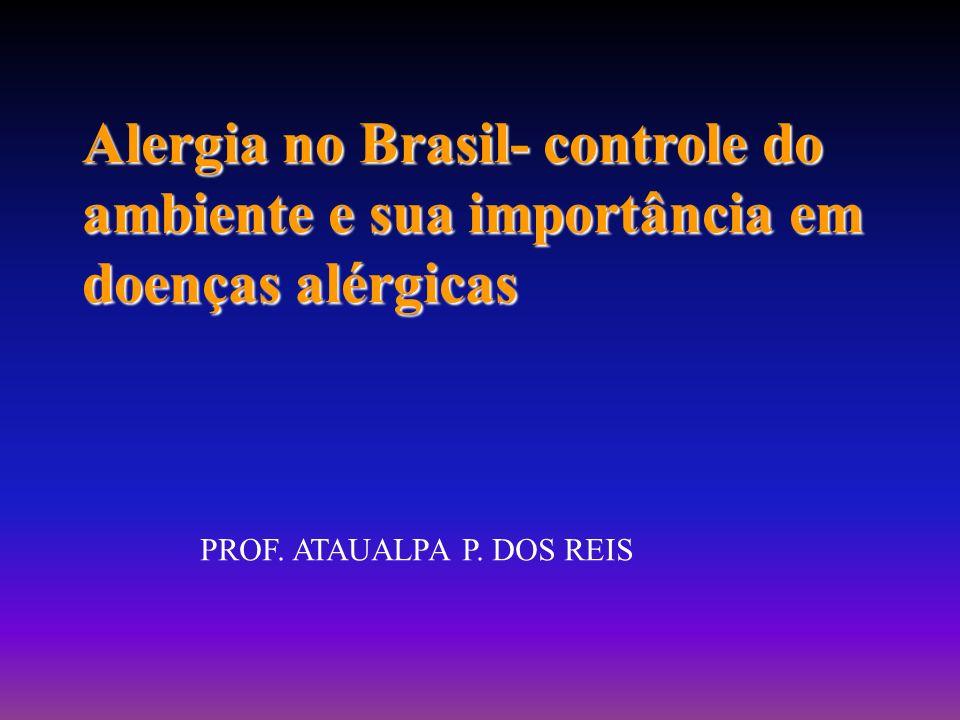 Alergia no Brasil- controle do ambiente e sua importância em doenças alérgicas