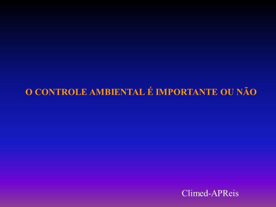 O CONTROLE AMBIENTAL É IMPORTANTE OU NÃO