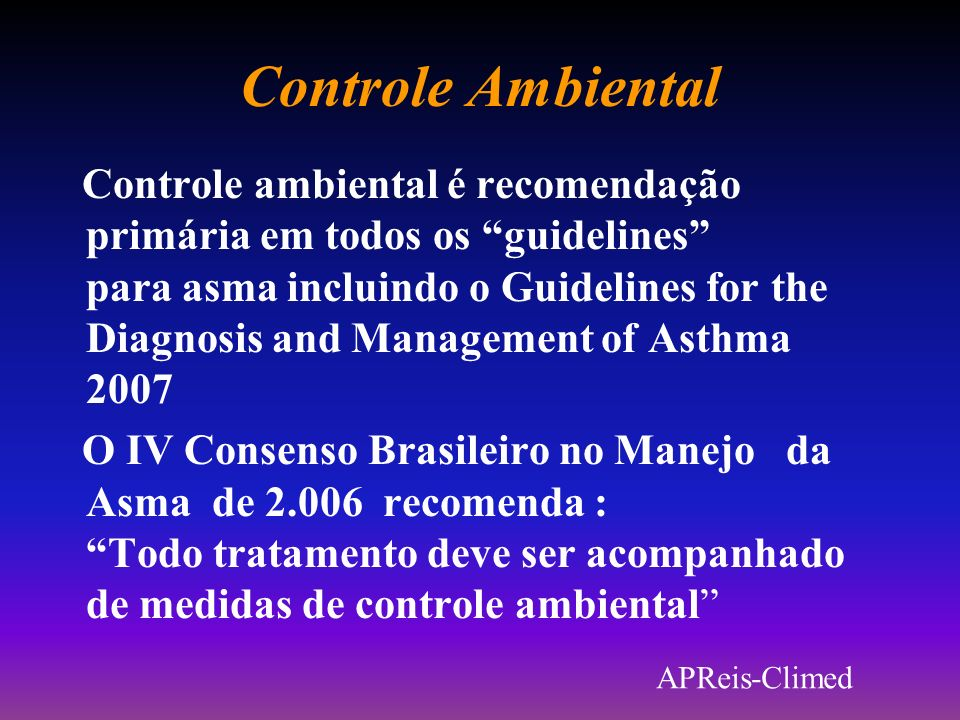 Controle Ambiental