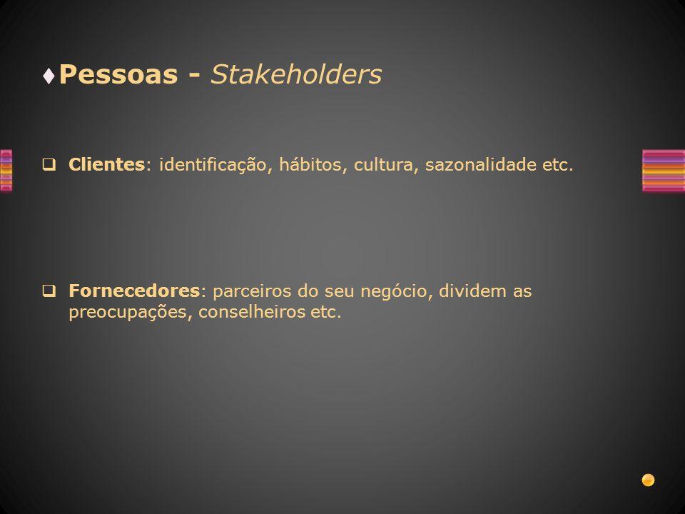 Pessoas - Stakeholders