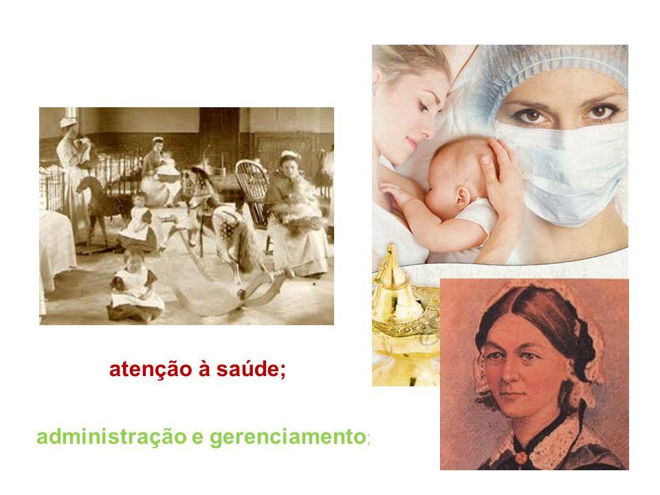 atenção à saúde; administração e gerenciamento;
